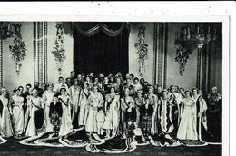 CPA-Carte Postale-Royaume-Uni- Couronnement D'Elisabeth II Portrait Officiel De La Reine1953-VM9916 - Royal Families