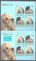 NEW ZEALAND - MNH/** - 1993 - PET TAIPEI EXPO - Yv Bloc 87-88 Mi Bl 36-37  - Lot 20730 - Blocs-feuillets