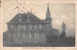 ¤¤    -    WINTZENHEIM    -   Hôtel De Ville            -  ¤¤ - Wintzenheim