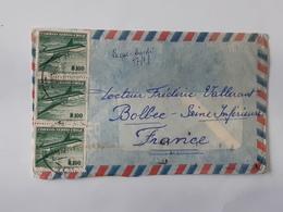 Lot De 2 Enveloppes Envoyées De Angol Au Chili Vers Bolbec -  ... Lot41 . - Cile