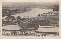 Tonkin - Tuyen-Quang - Rivière Et Village - Vietnam