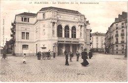 FR44 NANTES - Vasselier 23 - Le Théâtre De La Renaissance - Animée - Belle - Nantes