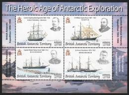 BAT / Brit. Antarktis 2008 - Mi-Nr. Block 15 ** - MNH - Schiffe / Ships - Ungebraucht