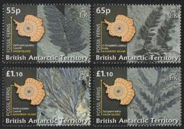 BAT / Brit. Antarktis 2008 - Mi-Nr. 475-478 ** - MNH - Fossile Farne - Ungebraucht
