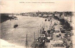 FR44 NANTES - La Loire - L'entrée Du Port - Panorama De Chantenay - Belle - Nantes