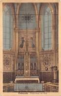 Geraardsbergen Onkerzele  Middenbeuk Der Kerk Met Altaar  M 1786 - Geraardsbergen