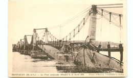 49* MONTJEAN Pont Effondre 12/4/1935 - France