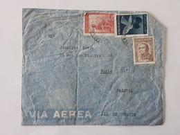 Lot De 5  Enveloppes Envoyées De Buenos Aires Argentina Vers Paris ... Lot41 . - Argentine