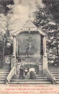 Souvenir De Thuin   Le Calvaire  Erigé Dans Le Bois Dit Du Grand Bon Dieu En 1725    M 1794 - Thuin