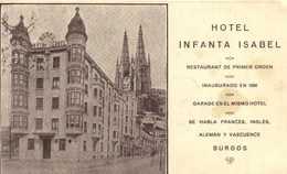 HOTEL INFANTA ISABEL BURGOS RV  Plan De Situation RV - Burgos