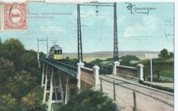 Nijmegen - Brug Bergspoor - J.H. Schaefer's Kunstchromo 32/21 - 1915 - Nijmegen