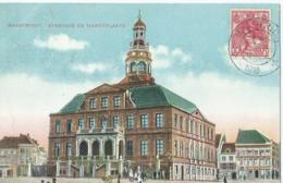 Maastricht - Stadhuis En Marktplaats - J.H. Schaefer's Edition Amsterdam Nr 080 - 1916 - Maastricht