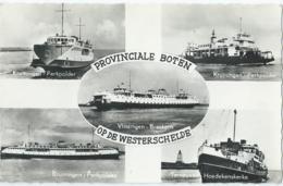 Terneuzen - Provinciale Boten Op De Westerschelde - No B 26 - 1966 - Terneuzen