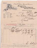 33-Compagnie Des Grandes Sources Minérales Françaises..Bordeaux (Gironde) 1914 - France