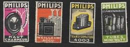 Philips, Huishoudapparaten, Radio, Accu, Lampen - Erinnofilia