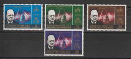 Nouvelles-Hébrides Légende Française 1966 Sir Winston Churchill 227-230 ** 4 Val. MNH - Ungebraucht