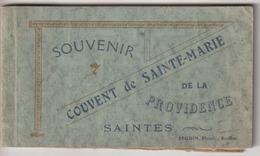 17 - Saintes - Couvent De Sainte-Marie - Carnet De 12 Cpa ( Complet) - Saintes