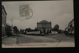 Anderlues - Chaussée De Charleroi Et Rue De La Station - Anderlues