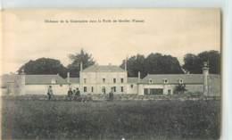 33314 - MONTS SUR GUESNES - CHATEAU DE LA GUERINIERE DANS LA FORET DE SCEVOLLES - Monts Sur Guesnes