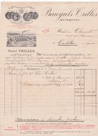 33-H.Trilles..Banyuls, Quinquina..Bordeaux (Gironde) 1917 - Petits Métiers