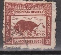 Indonesia Indonesie JAVA And MADOERA 23 Used Japanese Occupation Japanse Bezetting Netherlands Indies Nederlands Indie - Indonesia