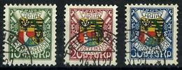 Liechtenstein Nº 75/77 Usado. Cat.70€ - Liechtenstein