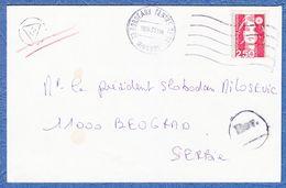 France To Serbia Yugoslavia - Francia
