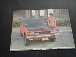 Publicité ( 78 ) Reclame   Auto   Voiture   FORD  Capri 2600 - Advertising