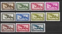 INDOCHINE Poste Aérienne 1933 à 1944 -  Lot De 11 Timbres ** (MNH) Cote YT : 5 Euros - Neufs