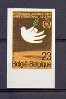 2202 Internationaal Jaar Van De Vrede ONGETAND POSTFRIS**  1986 - Belgique