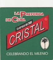 Sous Bock     Cristal  -  Celebrando  El Milenio - Sous-bocks