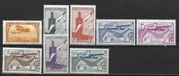 MAROC 1922 - 1942 Poste Aérienne - 8 Timbres Neufs (une Série Complète) ** Cote Maury: 8 Euros - Neufs