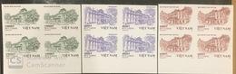 Blocks 4 Of Viet Nam Vietnam MNH Imperf Stamps Issued On 1st Nov 2019 : Vietnamese Architecture (Ms1116) - Vietnam