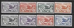 NOUVELLE-CALEDONIE -  Poste Et Poste Aérienne 1938-44 - 8 Timbres ** - Cote YT : 15 Euros - Nouvelle-Calédonie