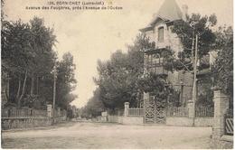 PORNICHET-AVENUE DES FOUGERES,PRES L'AVENUE DE L'OCEAN-EN 1928- - Pornichet