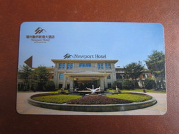 New Port Hotel, Fuzhou China - Cartas De Hotels