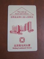 Beijing Landmark Towers - Cartas De Hotels