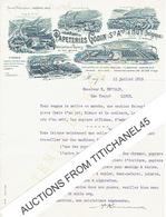 Lettre Illustrée 1915 -  HUY - ANDENNE - CHINET - PETRINNE - FLEURY - PAPETERIES GODIN En TEMPS DE GUERRE - Ohne Zuordnung
