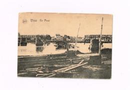 Le Pont.Expédié De Glons à Borgerhout.WWI.Destructions 1914-18 - Visé