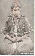 Indiens  : A Pequot Indian Girl. - Indiens De L'Amerique Du Nord
