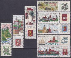 Poland 1911/18 - Tourism 1969 - MNH - Holidays & Tourism