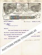 Lettre Illustrée 1901 MONTREAL -  J. B. ROLLAND & Fils - Libraires - Editeurs - Papetiers - Canada