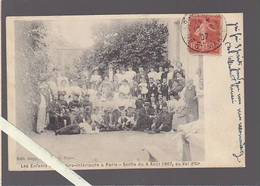 Paris / Chapelle Du Val D'Or, Sortie Aout 1907 Des Enfants De La Loire-inférieure / Ed Imp Ouvrière (syndicalisme) - Nantes
