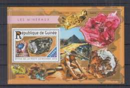 J715. Guinee - MNH - 2015 - Nature - Minerals - Bl - Plants