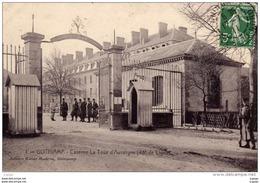 GUINGAMP . Caserne La Tour D'Auvergne Carte écrite En 1911   2 Scans - Guingamp