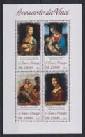 K948. Sao Tome And Principe - MNH - 2013 - Art - Paintings - Da Vinci - Kunst