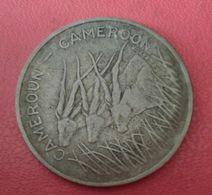 Cameroun-100-francs-1975   N° 585 - Cameroon