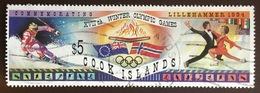 Cook Islands 1994 Winter Olympics Fine Used - Islas Cook