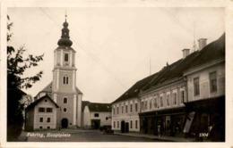 Fehring, Hauptplatz (1904) * 28. 7. 1934 - Fehring