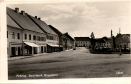 Fehring, Steiermark - Hauptplatz (12140) * 5. 9. 1957 - Fehring